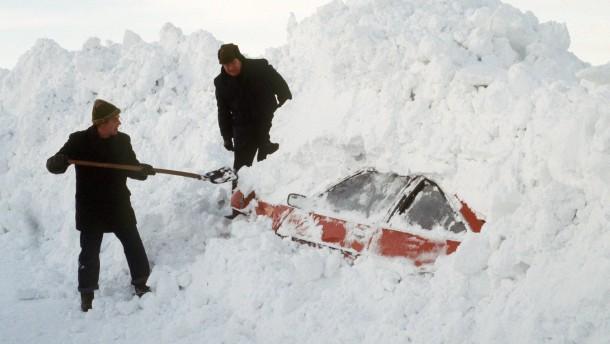 Schneekatastrophe in Schleswig-Holstein