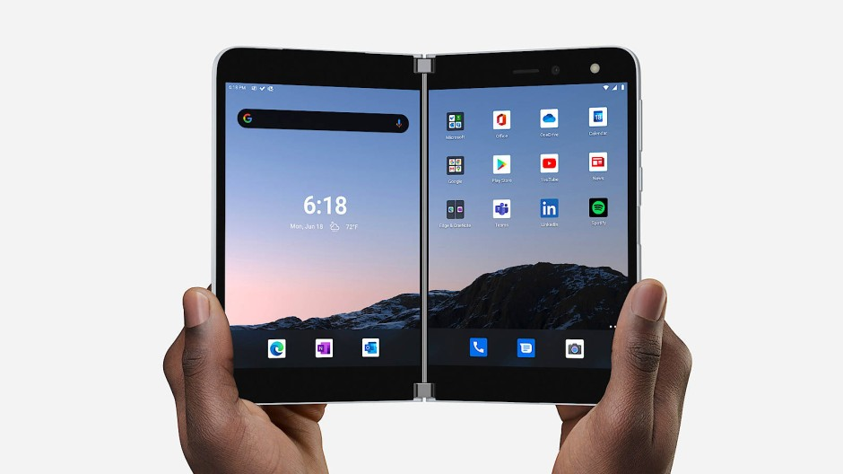 Microsoft Surface Duo: zum Aufklappen