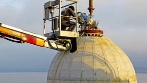 Forscher geben dem Bodensee die Kugel