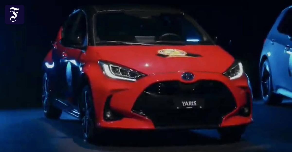 Toyota Yaris ist Auto des Jahres - FAZ - Frankfurter Allgemeine Zeitung