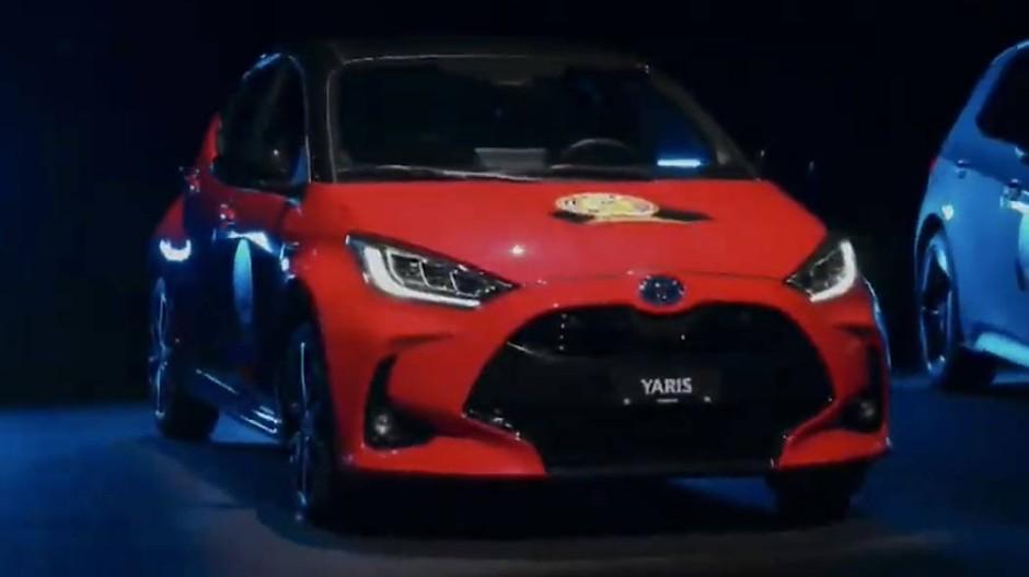 Der Toyota Yaris hat die meisten Stimmen der Jury bekommen.
