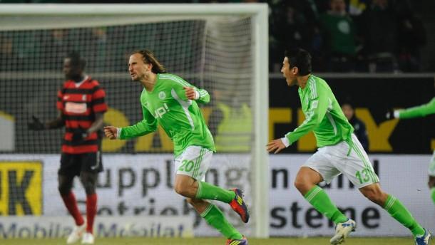 Wolfsburg verlässt die Abstiegszone