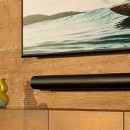 Die neue Soundbar Arc von Sonos gibt es auch in Weiß, sie ist 1,14 Meter lang.