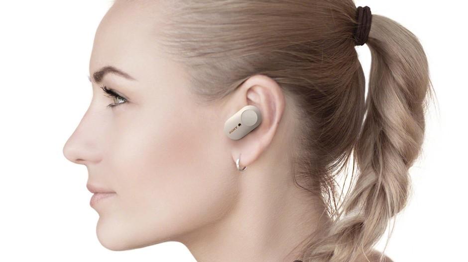 Noise-Cancelling für's Ins-Ohr-Stecken: Sony WF-1000XM3
