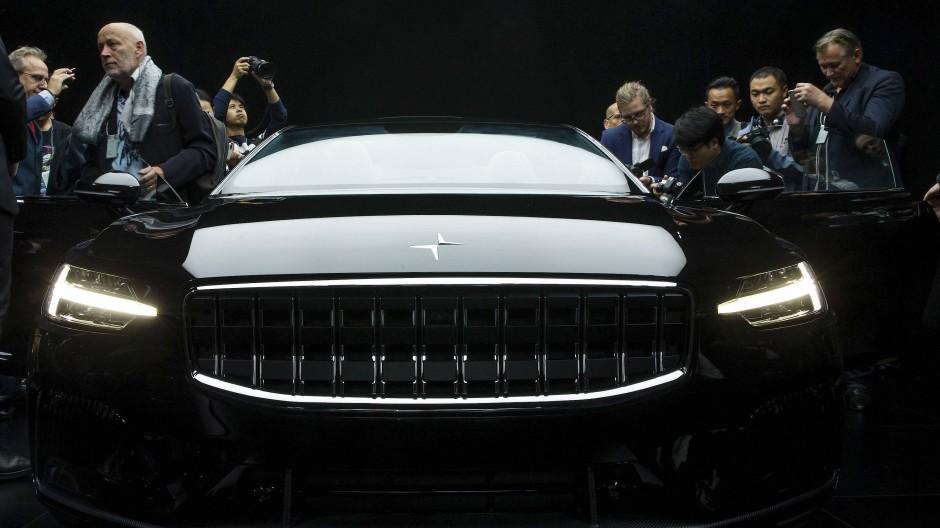 Die Nummer 1 trägt unverkennbar Volvo-Gene in sich, was auch nicht geleugnet wird.