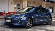 Ruhige Linien, aber kräftiger Grill: Kompakter Hyundai i30