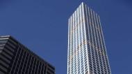 Der neue Turm in New York ist 426 Meter hoch.