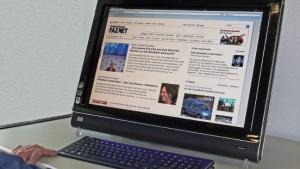 Ein Fingerzeig in die Zukunft des Computers