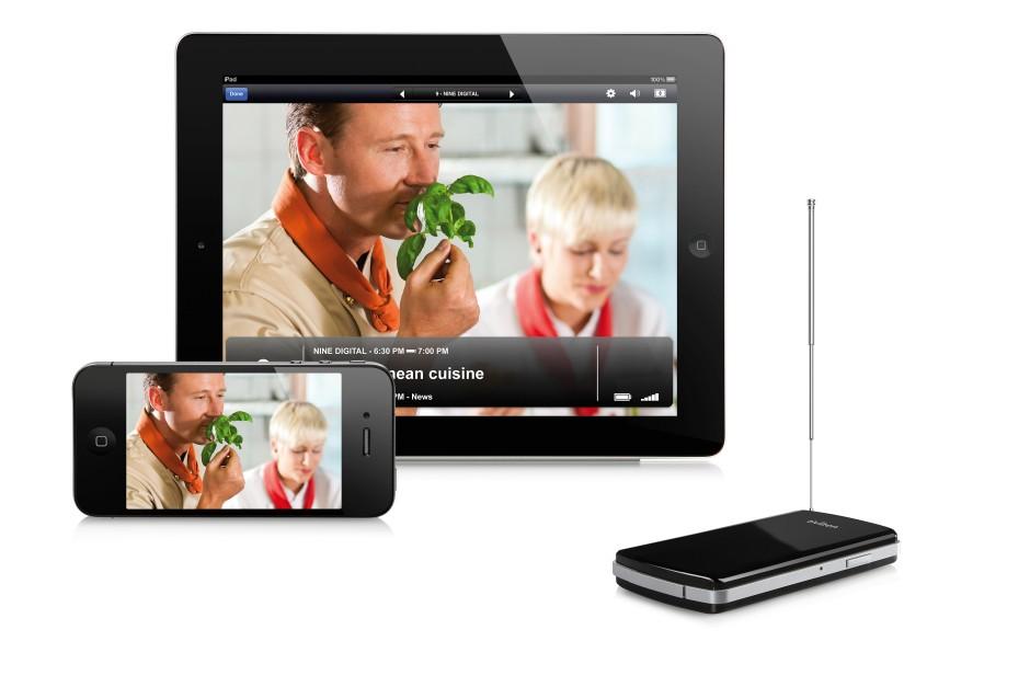 Bild zu: Mobilempfänger Tivizen: Das Fernsehbildchen kommt ...