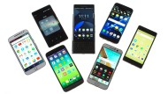 Das sind die sieben getesteten Android-Smartphones