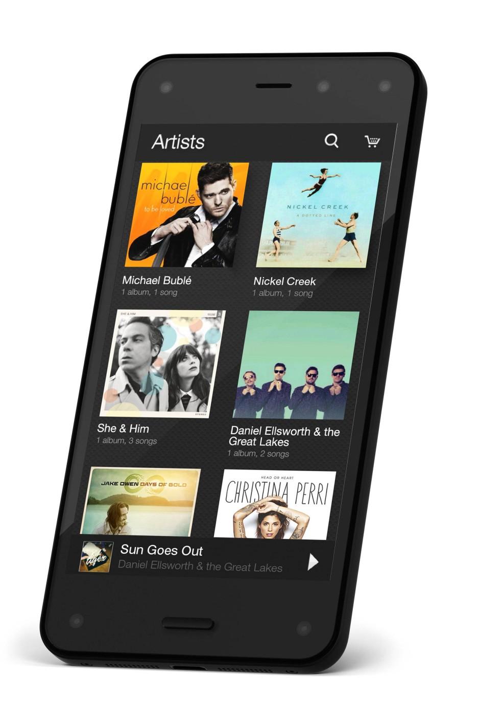 Der Musikdienst von Amazon darf nicht fehlen