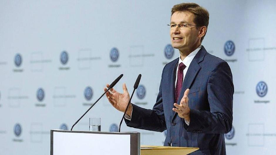 Soll VW auf neue Entwicklungspfade führen: Frank Welsch