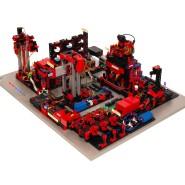 Die Lernfabrik dient zur Abbildung digitaler Produktionsprozesse.