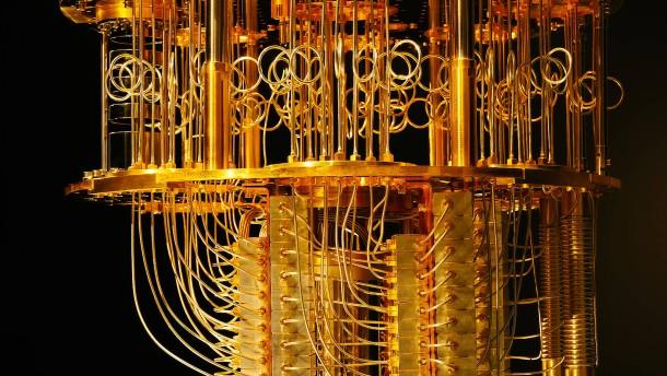 Computer üben den Quantensprung