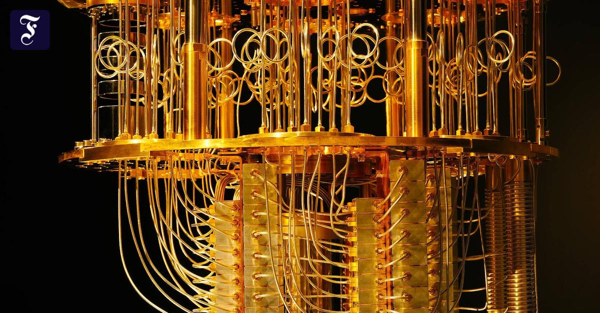 Computer üben den Quantensprung - FAZ - Frankfurter Allgemeine Zeitung