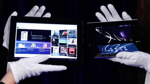 Sony präsentiert Tablet-Computer