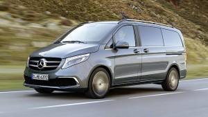 Mercedes mit Mascara
