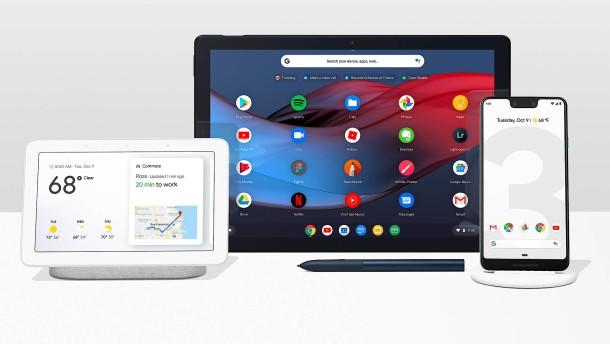 So will Google gegen Huawei und Amazon punkten
