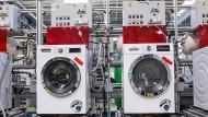 Bei Bosch-Siemens-Hausgeräte in Nauen gehen in diesem Jahr 700000 vom Band.