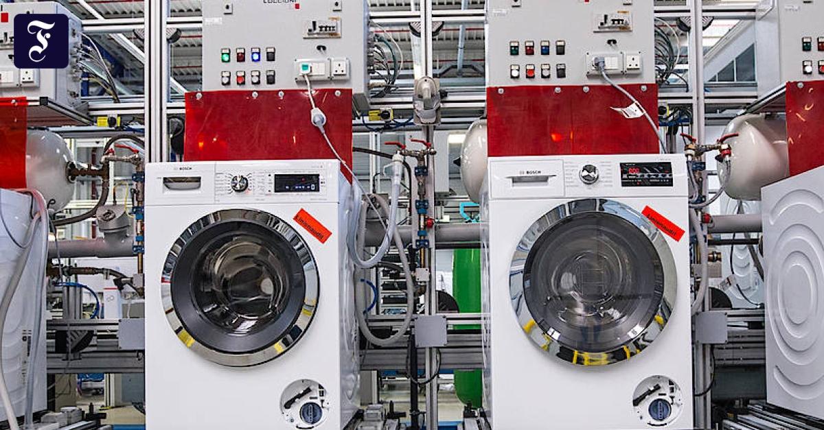 Bosch Kühlschrank Produktion : Technik der waschmaschine aktuelle innovationen von bosch siemens