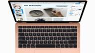 Wir haben uns das neue Macbook Air angesehen, das im Oktober vergangenen Jahres debütierte.