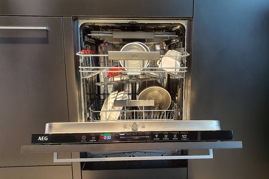 AEG setzt auf Quickselect bei neuen Geschirrspülmaschinen.