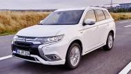 Das komplett überarbeitete Erfolgsmodell Mitsubishi Outlander PHEV.