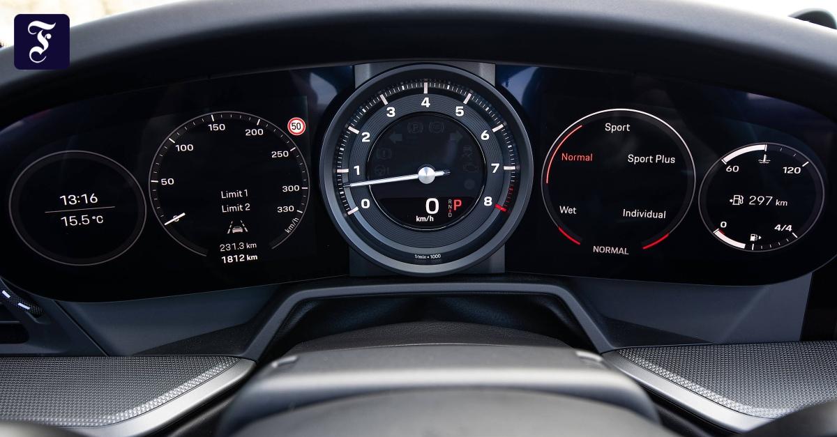 Infotainment im Porsche 911: Schnell und immer hybrid