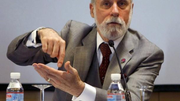 """Internet-Konferenz """"WWW2009"""" - Internet-Pionier Vinton G. Cerf"""