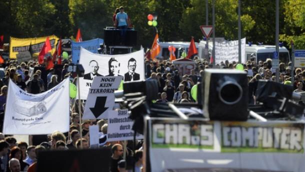Video zeigt Polizeigewalt bei Demo