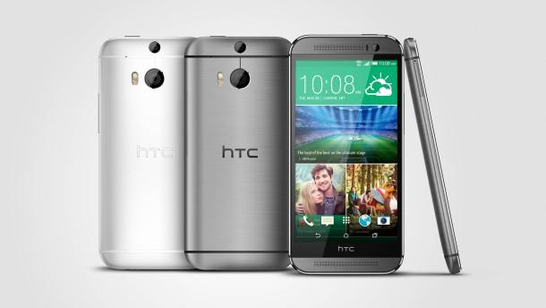 Smartphone HTC One M8 im Test