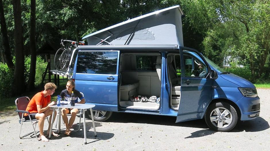 Die Campingbranche rollt in eine rosige Zukunft, und Volkswagen fährt mit dem California und dem Grand California ganz vorn mit.
