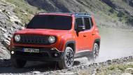 So klein und schon ein echter Jeep