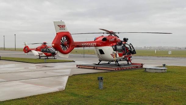 DRF Luftrettung verlegt weiteren Hubschrauber nach Sachsen