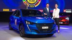 Peugeot 208 ist Auto des Jahres