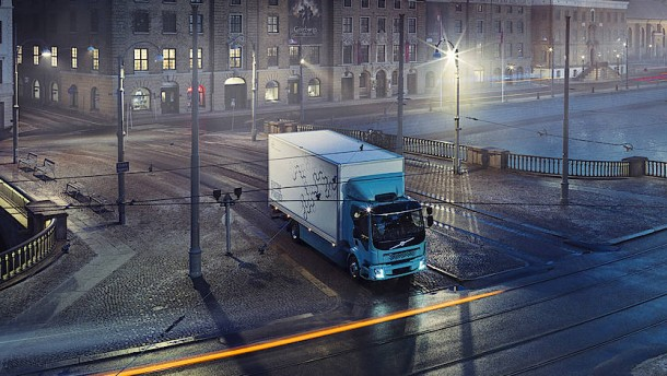 Volvo elektrisiert den Lastwagen