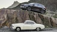 Ein klassisches Isabella-Coupé steht Pate für Neu-Borgward, dessen Weg mit dem SUV BX-7 steil nach oben geht.