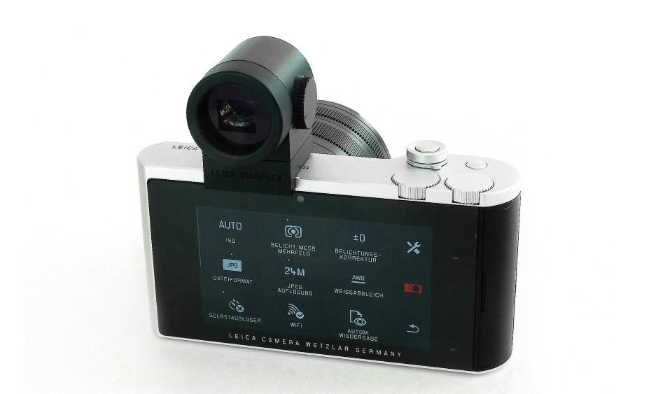 Die Leica TL2 gibt sich puristisch.