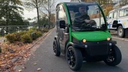 Das vermutlich kleinste Elektroauto der Welt