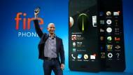Jeff Bezos stellt das erste Smartphone von Amazon vor