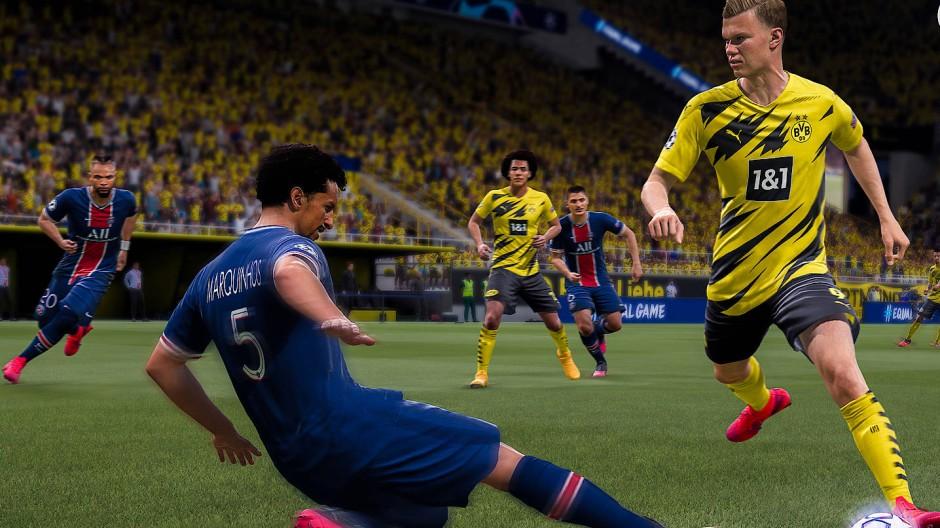 Ein schneller Typ: Dortmunds Erling Haaland bringt Tempo ins Spiel.