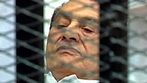 Mubarak im Koma
