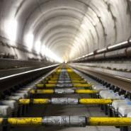 Blick in einen der beiden Ceneri-Tunnel