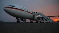 """Guten Flug? Mit dem Airbus """"Theodor Heuss"""" ist das nicht mehr gewährleistet. Ersatz muss her."""