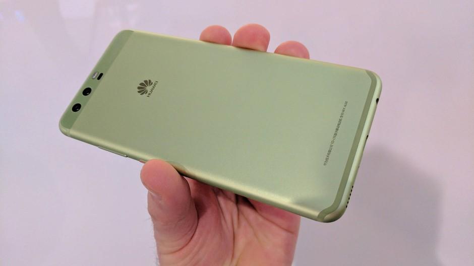 """Das P10 in grün. Oder in """"Greenery"""", wie es Huawei nennt"""