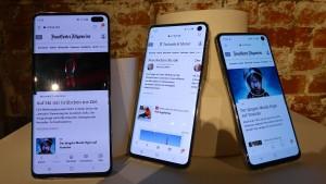 Vier neue Smartphones zum zehnten Jubiläum