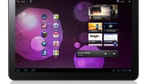 Samsungs Galaxy Tab in Australien gestoppt