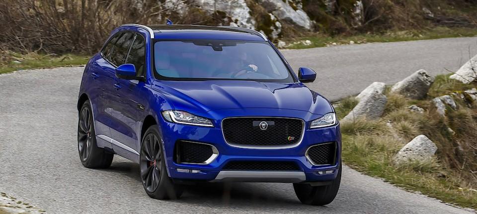 Fahrbericht Jaguar F Pace Auf Den Spuren Des Cayenne Fahrberichte