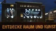 Spielplatz Opernwerkstätten Berlin: Eine Kunstausstellung lädt zur Entdeckung einer Kamera ein.