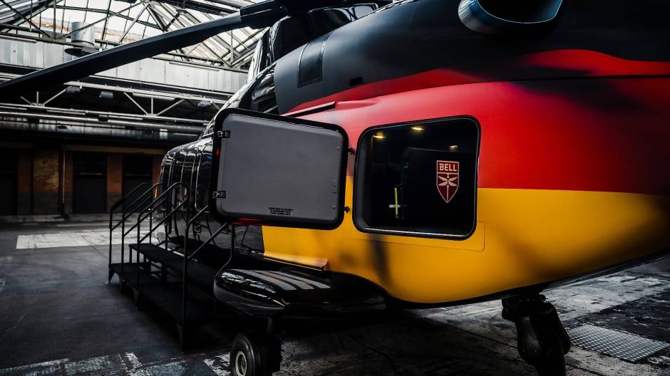 Mitten in Berlin wurde nun die erste 525 vorgestellt.